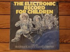 Bruce Haack - The Electronic Record For Children 1983 RE Dimension 5 Vinyl NM-