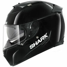 Cascos brillantes Shark color principal negro para conductores