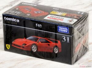 Tomica PREMIUM 31  - OFFICIAL FERRARI F40 [RED] new in sealed box tomy