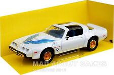 PONTIAC FIREBIRD TRANS AM 1:43 Car Model Die Cast Metal White Miniature 1979