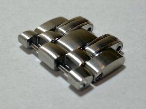 Omega Seamaster James Bond Spare Bracelet Link + Half x2 DOUBLE 20mm Steel OEM