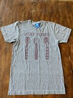 Raygun Iowa STAY TUNED guitar t shirt SUPER SOFT cotton blend MADE IN THE USA