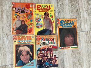 Partridge Family # 8 (1972) Charlton Comics David Cassidy Bobby Sherman LOT of 5