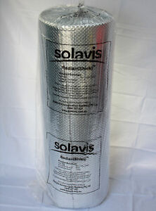 6m²  SOLAVIS RadiantShield AIR BUBBLE CELL INSULATION REFLECTIVE FOIL INSULATION