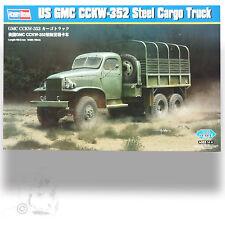 "HOBBY BOSS 1/35 U.S. GMC CCKW-352 ""DUECE AND A HALF"" 6X6 STEEL CARGO TRUCK"