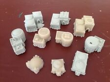 1/300 6mm Terrain Epic Adeptus Titanicus 10 Piece Resin Village set