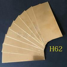 1pcs Brass Metal Sheet Plate 2mm x 100mm x 200mm