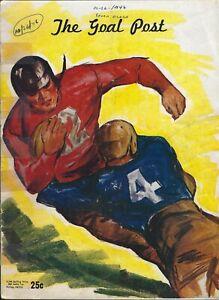 October 1946 #4 UCLA Bruins vs Santa Clara Broncos College Football Program
