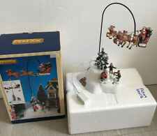 Lemax Christmas - Santa Claus Is Coming To Town - Musical Mobile NO MAINS PLUG