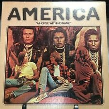 AMERICA Self-Titled DEBUT Album Released 1971 Vinyl/Record Collection US pressed