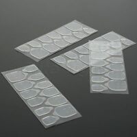 10 Sheets False Nail Art Tips Adhesive Double Sided Tape Stickers Manicure Tool
