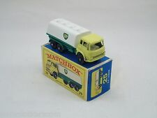 Matchbox Lesney # 25 Camion Citerne BP Tanker  NM/boîte (#MBB)
