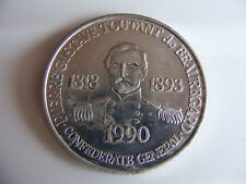 New  Orleans  Top Of The Mart Token 1990  Commemorating Pierre Gustave 1818-1893