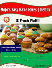 Mojo's Easy Bake Oven Refill | Cookies & Strawberry Cakes Mix 7.2 oz