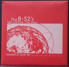 "THE B-52's TIME CAPSULE - SUMMER OF LOVE LTD ED DOUBLE PACK PLASTIC SLEEVE 2x12"""