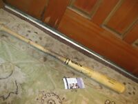 Andre Dawson Game Used Autographed Baseball Bat JSA Certified
