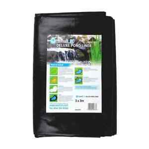 """Deluxe Water Garden Pond Liner, Great Value Year Round 14 MIL Liner 9'8"""" x 8'2"""""""
