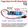 DC 5V 12V 1s~10s Adjustable Timing Timer Delay Turn OFF Time Relay Switch Module