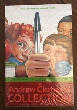 Andrew Clements Book Set of 8 New in Package Still in Shrinkwrap!!