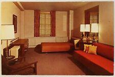 Illini Union University of Illinois Champaign-Urbana Guest Room Postcard