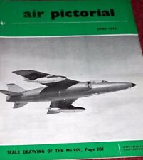 Air Pictorial 1958 June Luton Minor,BF109 Gustav,Fiat,Herald,Bristol 123,Salvay