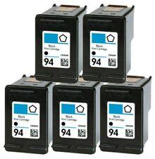 5 PACK For HP #94 Black Ink For Officejet 6200 6210 6213 6215 7210 7310 7410