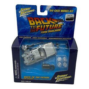 Johnny Lighting 2002 1/64 Back To The Future Time Machine Model Kit