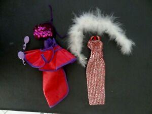 Tenues vintage poupée SUPERSTAR BARBIE MATTEL - années 1970/1980  # 9720 et 5868