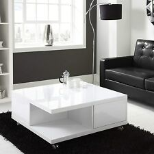 Square Coffee Tables With Storage For Sale Ebay