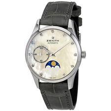 Zenith Heritage Elite Ultra Thin Lady Moonphase Diamond Automatic Watch