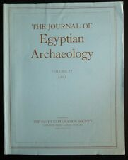 The Journal of Egyptian Archaeology Volume 77 1991 The Egypt Exploration Society