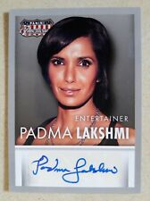 Padma Lakshmi 2015 Panini Americana Autograph Card