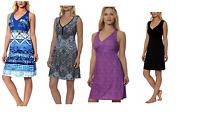 NEW Gerry Women's Sundress Sleeveless Racerback Active Summer Dress- VARIETY
