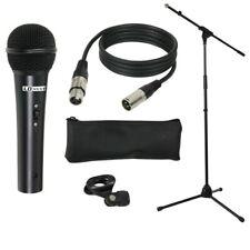 LD-Systems MIC Set 1, Bühnen Mikrofon Set inkl. Ständer, Halterung, Kabel u. Bag