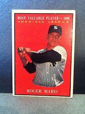 ROGER MARIS 1961 TOPPS #478 MVP
