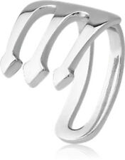 NEW Surgical Steel Lip Cuff Trident Aussie Seller Free Delivery