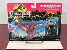 """1993 JURASSIC PARK PACHYCEPHALOSAURUS """"RAM HEAD"""" DINOSAUR CASE FRESH MINT-SEALED"""
