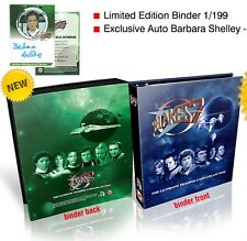 Blake's 7 Series 1 & 2 Trading Card Sets + Binder + Shelley Autograph + 15 Pages