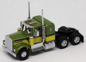 Athearn HO KW Kenworth Owner-Operator Truck Tractor Green-Green ATH41049 CUSTOM