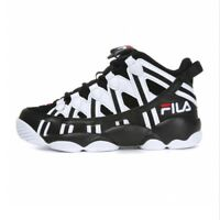 FILA SPAGHETTI 95 Men's Basketball Sneakers Shoes - White/Black(FS1HTA1013X)