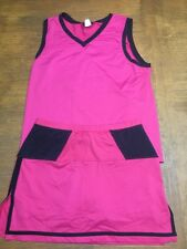 Jerdog Tennis Clothing for the Physical Size M Rasberry pink color