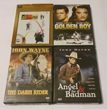 All About Eve, Golden Boy, The Dawn Rider & Angel & The Badman Dvd