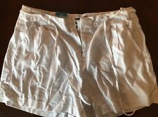 New OLD NAVY Size 12 High Rise Linen Blend Shorts