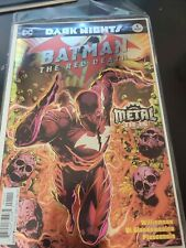 Batman: The Red Death #1 Dark Nights Metal/Foil Cover 1st Print NM DC Comics