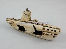 U-Boot Wrack als Aquariendeko 25 x 7 x 10 cm Deko Höhle für Aquarium