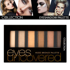 Collection Cosmetic Eyes Uncovered High Pigmented EyeShadow Palette Nude Bronze