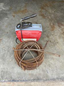 Rothenberger R600 Rohrreinigungsmaschine Rohrreiniger Spirale