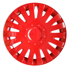"4x15"" Wheel trims covers fit TOYOTA 15"" wheels red full set x 4 RED"