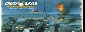 CRUEL SEAS RULEBOOK - WARLORD GAMES - WORLD WAR 2 NAVAL GAME - NOW