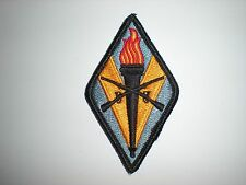 US ARMY TRAINING CENTER AND FORT JACKSON PATCH - FULL COLOR